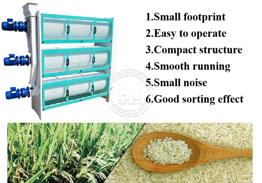 rice length grader price-rice mill plant