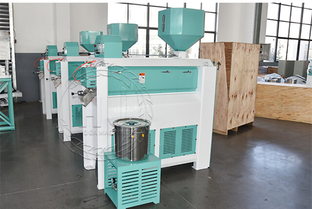 rice polisher cost-rice mill production line