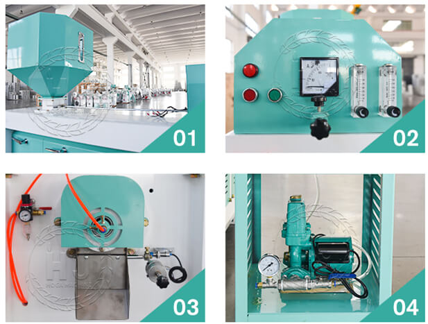 rice polisher details-rice mill production line