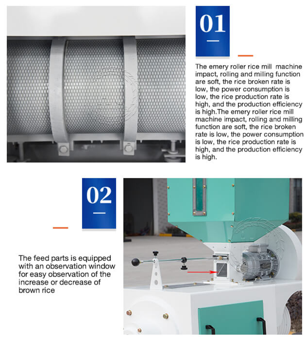 emery roller rice mill details-rice mill machines