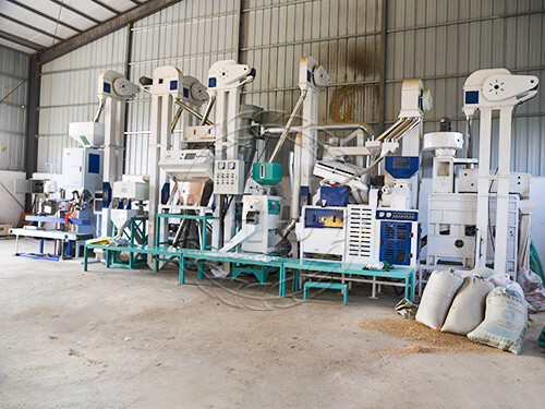 small rice mill production line price-hongjiamachinery