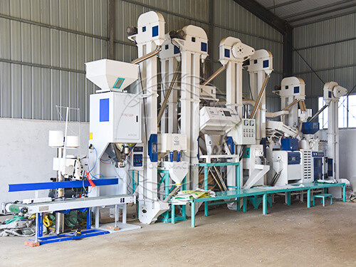 small rice mill production line -hongjiamachinery