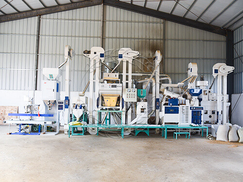 small rice mill production line cost-hongjiamachinery