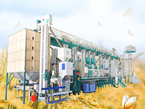 60T/D Rice Mill Plant