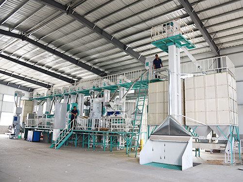 60T complete rice mill plant-hongjiamachinery