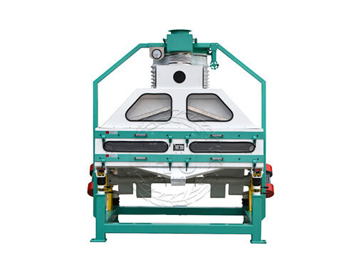 double rice stone removing machine in rice processing plants