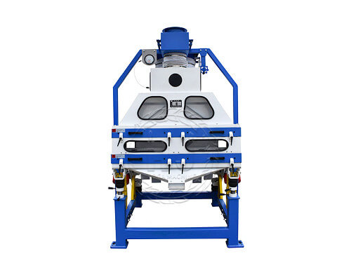 double rice stone removing machine in rice processing plant