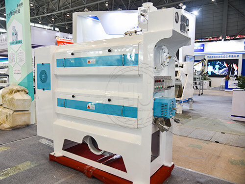rice polishing machine in rice production line