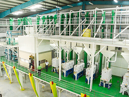 200T per day rice mill machine